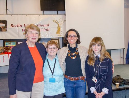 Message from Carol Marquardt, BIWC President (2nd left on image)