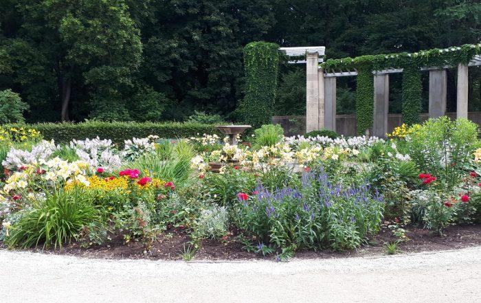 Flower Beds in Tiergarten Park