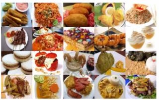 Colourful Examples of Peruvian Dishes