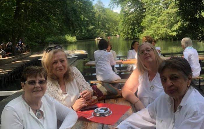 Lunch in White August 2021 Café am Neuen See